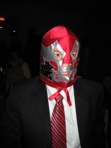 Can you name this masked man?